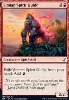 Time Spiral Remastered Foil: Simian Spirit Guide