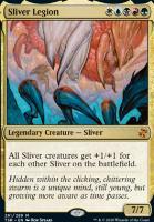 Time Spiral Remastered Foil: Sliver Legion