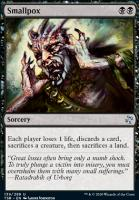 Time Spiral Remastered Foil: Smallpox