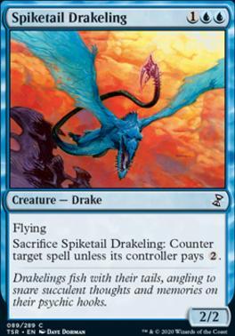 Time Spiral Remastered Foil: Spiketail Drakeling