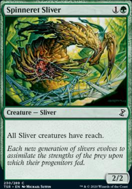 Time Spiral Remastered Foil: Spinneret Sliver