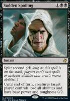Time Spiral Remastered Foil: Sudden Spoiling