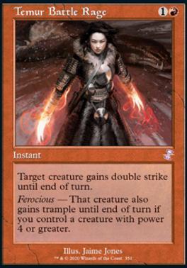 Time Spiral Remastered: Temur Battle Rage