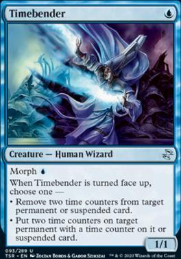 Time Spiral Remastered Foil: Timebender