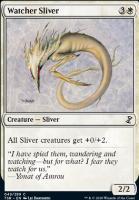 Time Spiral Remastered Foil: Watcher Sliver