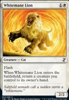 Time Spiral Remastered Foil: Whitemane Lion