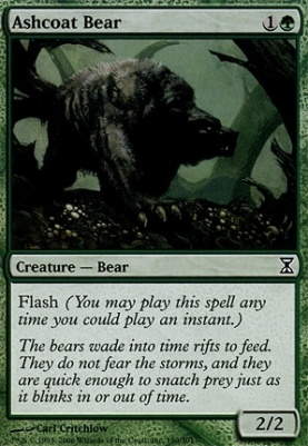 Time Spiral: Ashcoat Bear