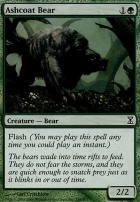 Time Spiral Foil: Ashcoat Bear