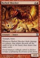 Time Spiral Foil: Barbed Shocker