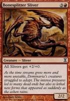 Time Spiral Foil: Bonesplitter Sliver