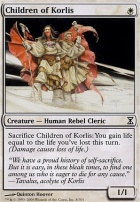 Time Spiral: Children of Korlis