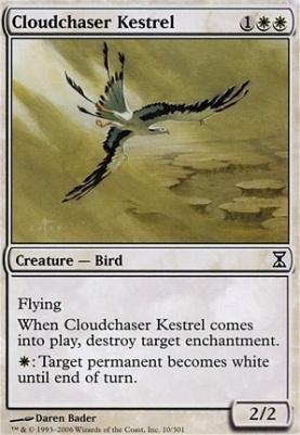 Time Spiral Foil: Cloudchaser Kestrel