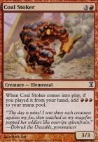 Time Spiral Foil: Coal Stoker
