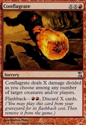 Time Spiral Foil: Conflagrate