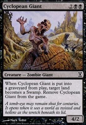 Time Spiral: Cyclopean Giant