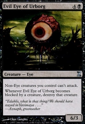 Time Spiral: Evil Eye of Urborg