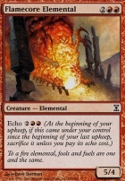Time Spiral: Flamecore Elemental