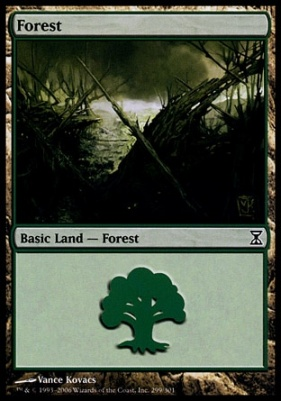 Time Spiral: Forest (299 B)