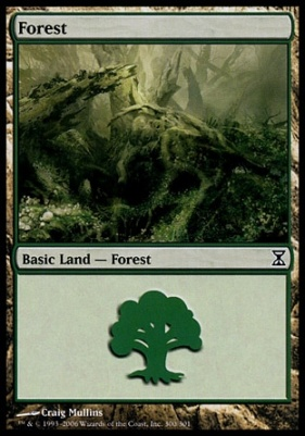 Time Spiral: Forest (300 C)