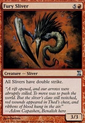 Time Spiral: Fury Sliver
