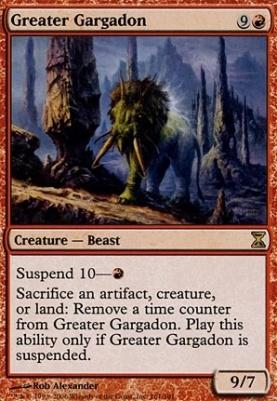 Time Spiral: Greater Gargadon