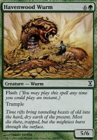 Time Spiral Foil: Havenwood Wurm