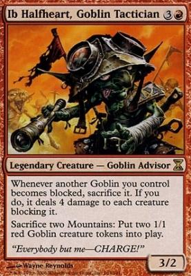 Time Spiral: Ib Halfheart, Goblin Tactician