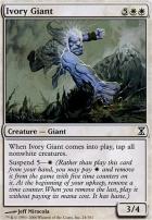 Time Spiral Foil: Ivory Giant