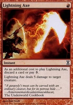Time Spiral Foil: Lightning Axe