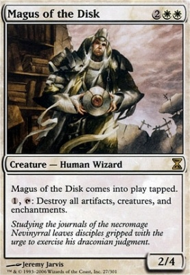 Time Spiral: Magus of the Disk
