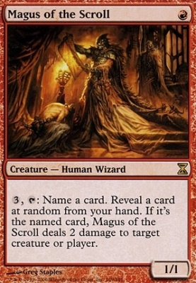 Time Spiral: Magus of the Scroll