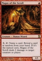 Time Spiral Foil: Magus of the Scroll