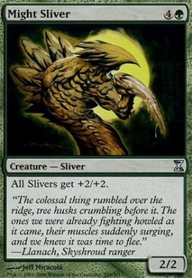 Time Spiral: Might Sliver