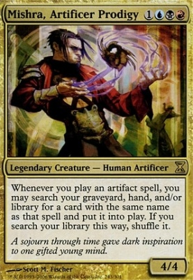 Time Spiral: Mishra, Artificer Prodigy
