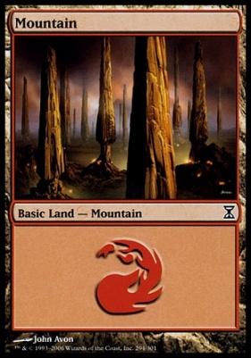 Time Spiral Foil: Mountain (294 A)