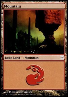 Time Spiral: Mountain (295 B)