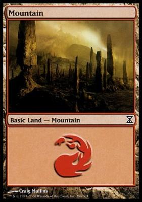 Time Spiral: Mountain (296 C)