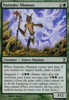 Time Spiral Foil: Nantuko Shaman