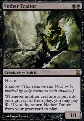Time Spiral Foil: Nether Traitor