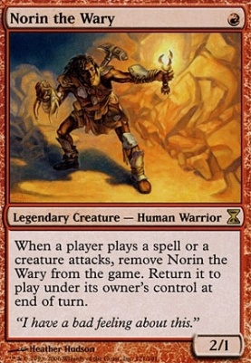 Time Spiral: Norin the Wary