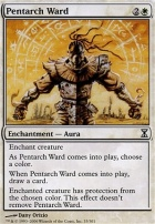 Time Spiral Foil: Pentarch Ward