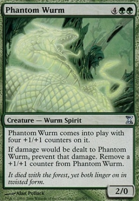 Time Spiral: Phantom Wurm
