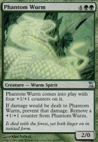 Time Spiral Foil: Phantom Wurm