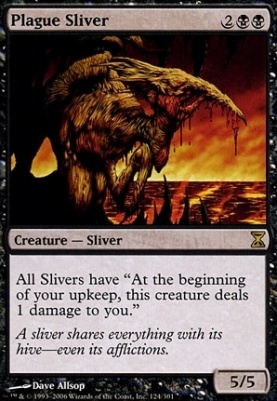 Time Spiral: Plague Sliver