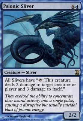 Time Spiral Foil: Psionic Sliver