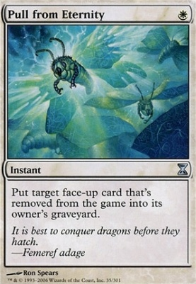 Time Spiral: Pull from Eternity