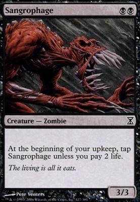 Time Spiral Foil: Sangrophage