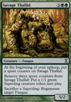 Time Spiral: Savage Thallid
