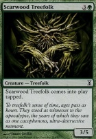 Time Spiral: Scarwood Treefolk
