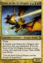 Time Spiral Foil: Scion of the Ur-Dragon